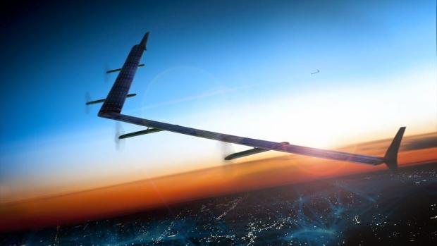 El primer vuelo de Aquila, el dron de Facebook