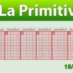 Resultados Primitiva sábado 15 de junio
